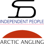 independent people and arctic angling logos
